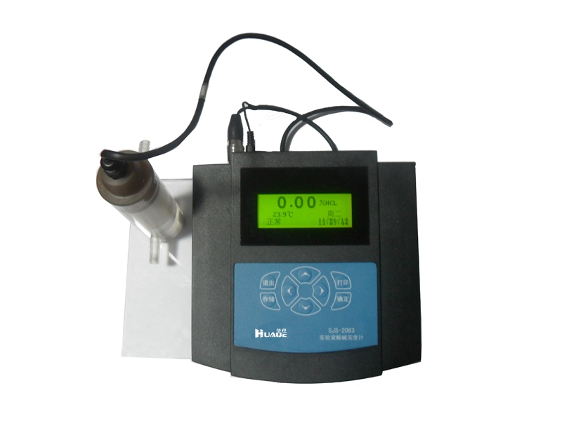 SJS-2083 portable desktop Chinese acid-base concentration meter